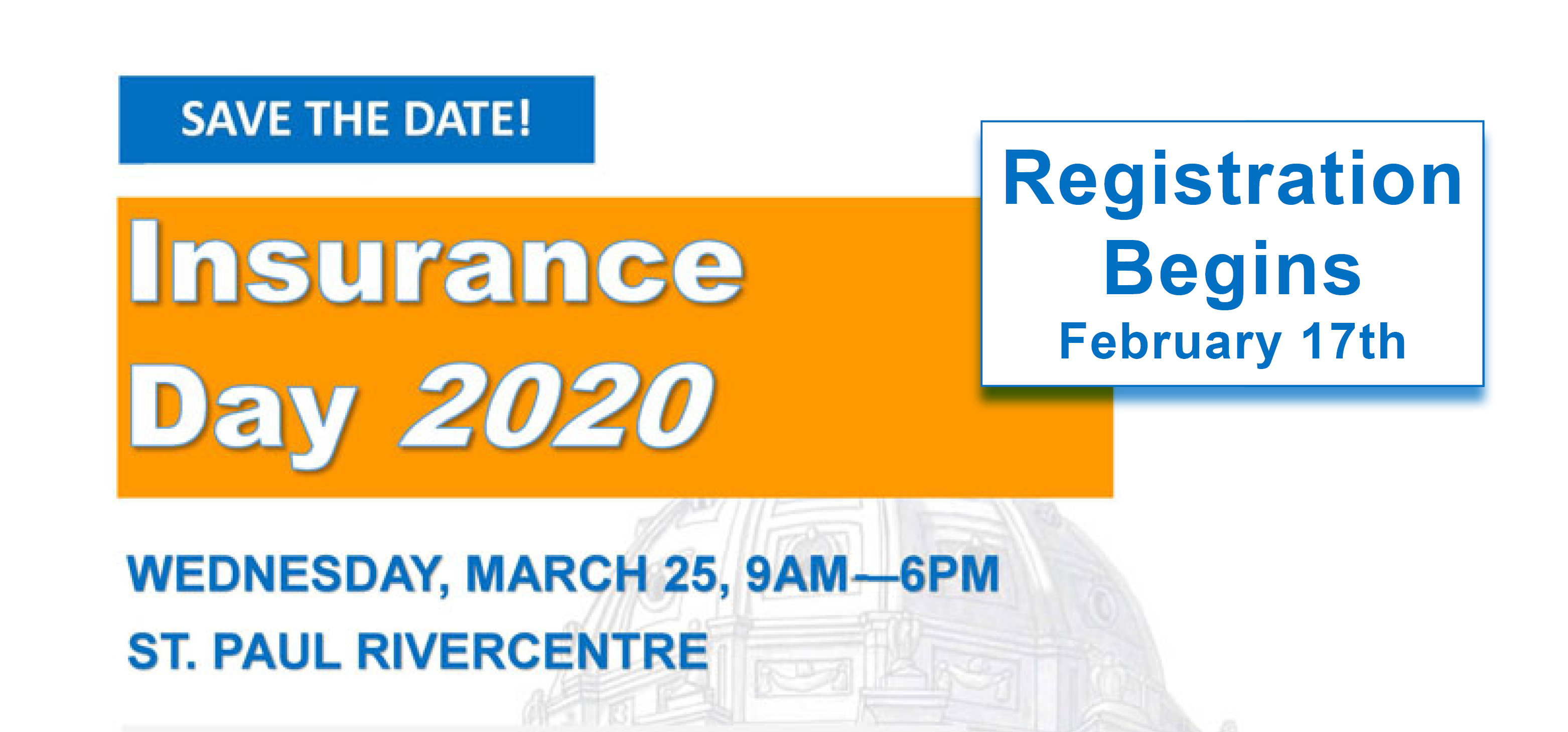 Insurance Day 2020 - Save the Date!